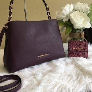 New Michael Kors Large Sofia Satchel & wallet